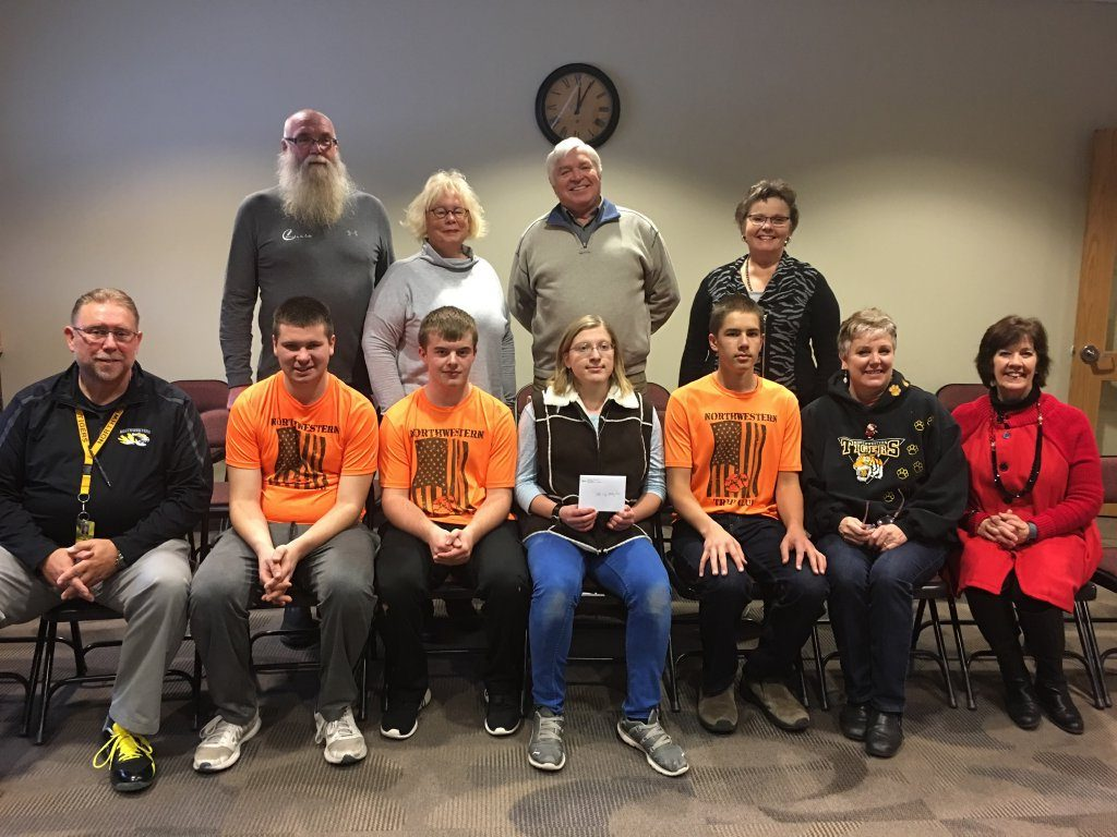 Donation to the Northwestern Trap Shooting Club